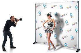 Step and Repeat Advertising at Events