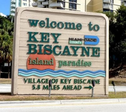 Sign company in Key Biscayne