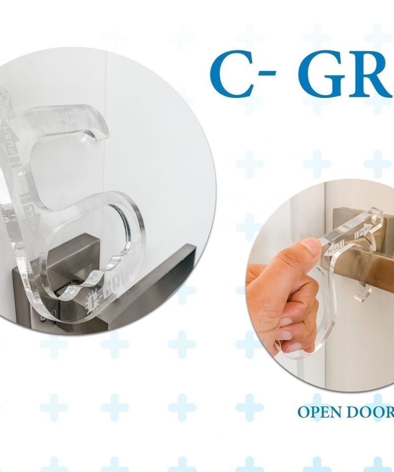 c-grip convid corona handle safety product